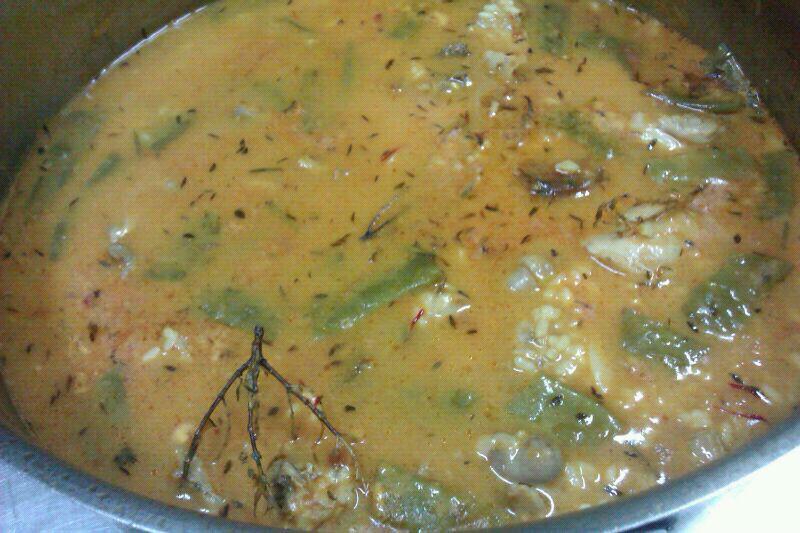 arroz meloso con romero y tomillo