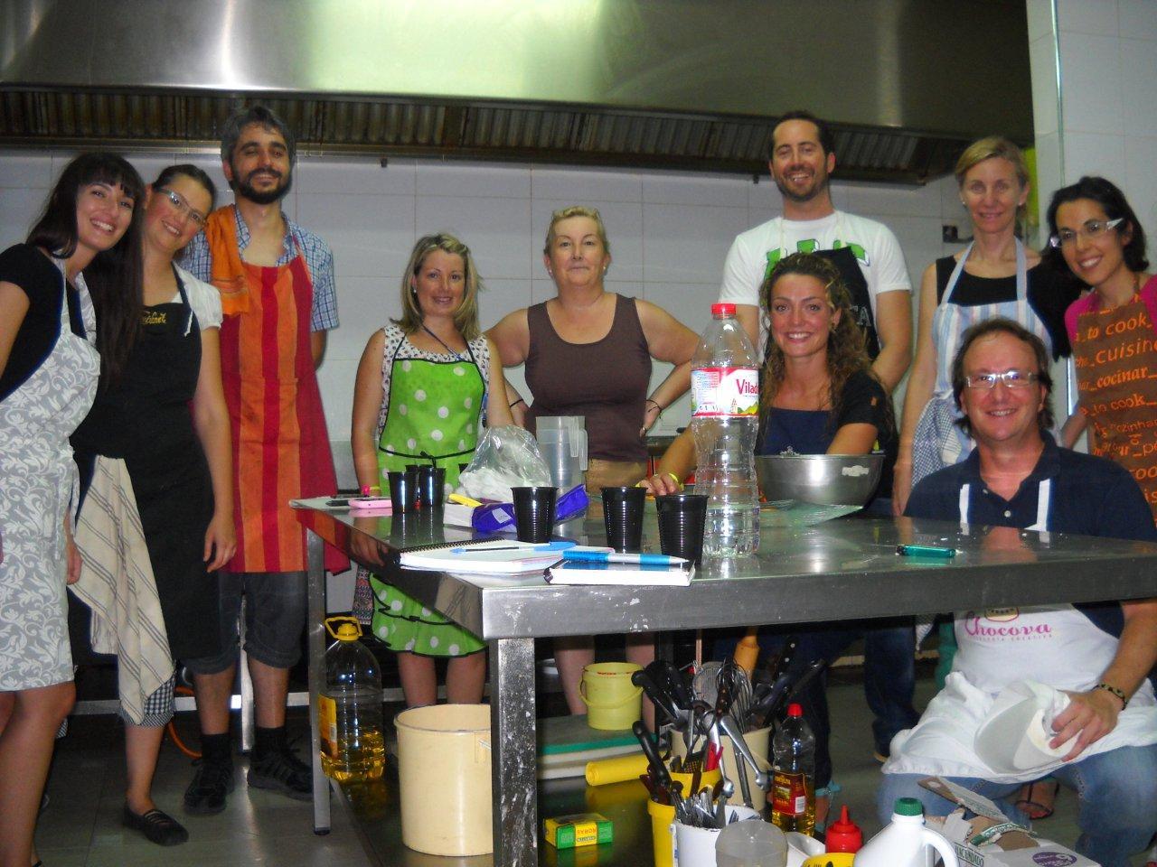 Taller cocina creativa II