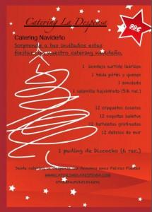 Catering navideño para 5 personas