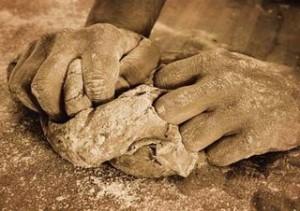amasado de pan