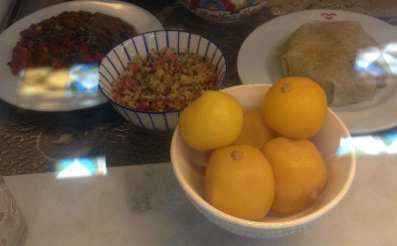 Limones en salmuerra