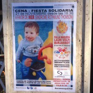 Cena Solidario para Iker