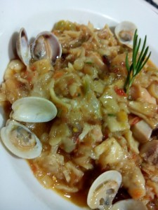 Gazpacho Marinero en Catering La Despensa