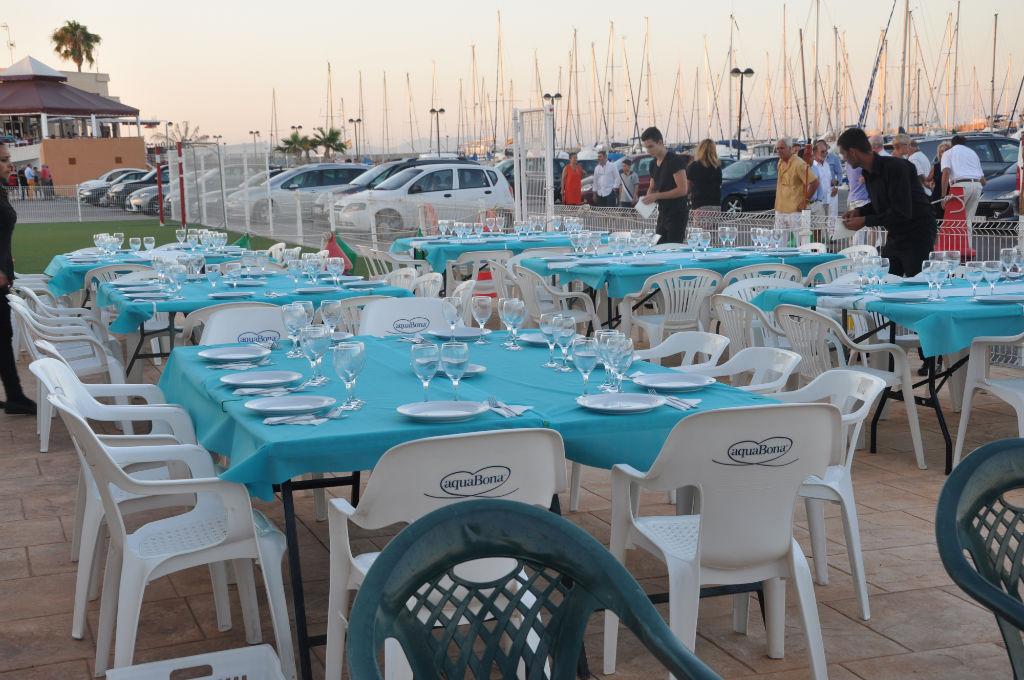 Cena en Club Nautic Canet D'en Berenguer