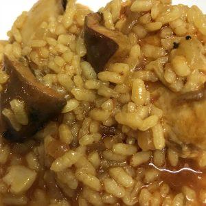 arroz-meloso-carrilera-setas-calabaza - Catering La Despensa